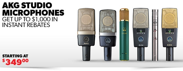 AKG Reference Microphones