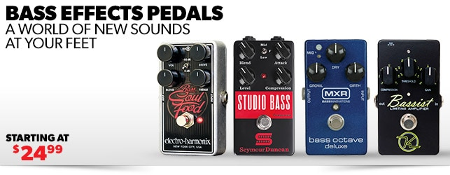 Bass Effects Pedals