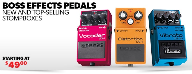 Boss Effects Pedals