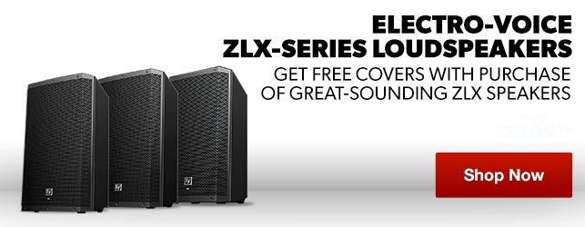Electro-Voice ZLX-Series  Powered Speakers