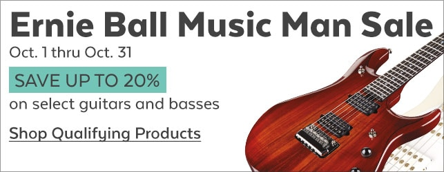 Ernie Ball Music Man Sale