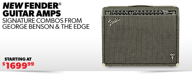 Fender The Edge Deluxe & George Benson Twin Reverb
