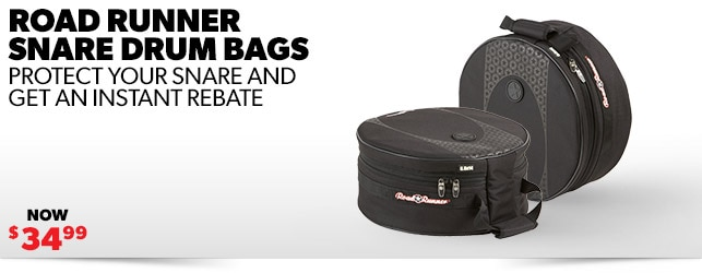Instant Rebates on Exclusive Road Runner Snare Bags