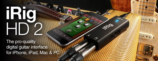 IK Multimedia iRig 2 HD