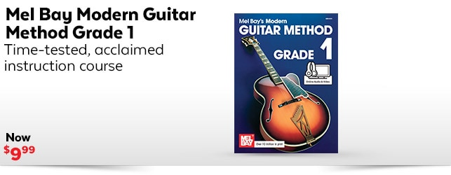 Modern Guitar Method Grade 1 Book
