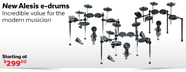 New Alesis eDrums