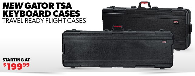 New Gator TSA Keyboard Cases