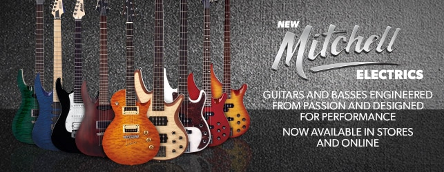 Mitchell Electric Guitars and Basses