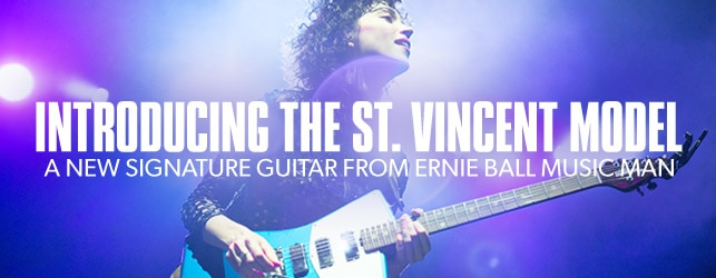 New Music Man St. Vincent Signature