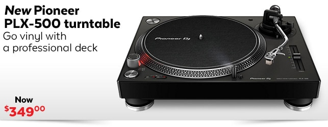 New Pioneer PLX-500 Turntable
