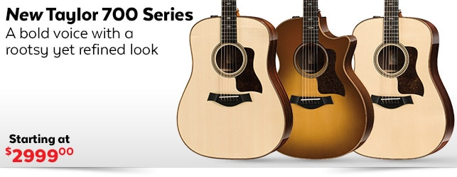 New Taylor 700 Series