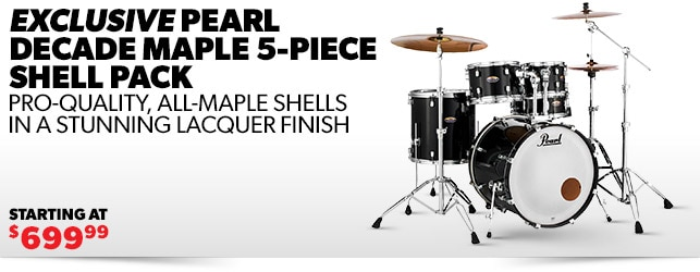 Pearl Decade Maple Shell Pack