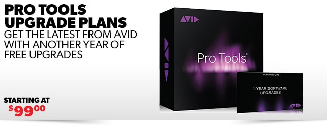 Pro Tools Upgrade Plans