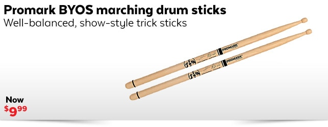 Promark BYOS Marching Sticks