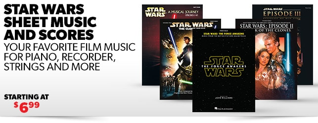 Star Wars Sheet Music and Scores