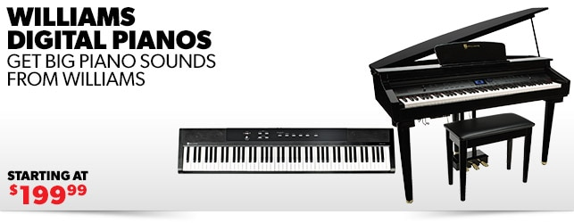 Williams Digital Pianos