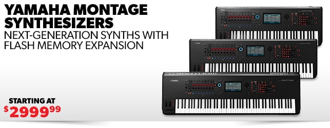 Yamaha Montage Synthesizers