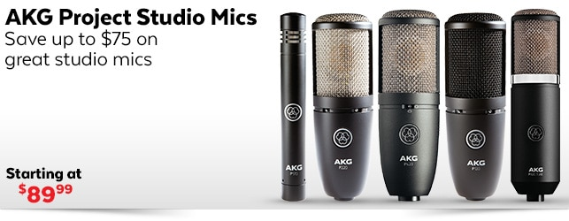 AKG Project Studio Mics