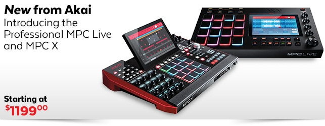 All New Akai MPCs