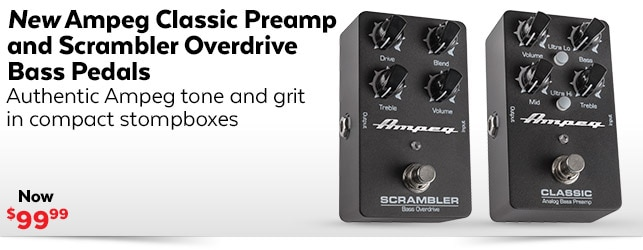 Ampeg Classic Preamp and Scrambler