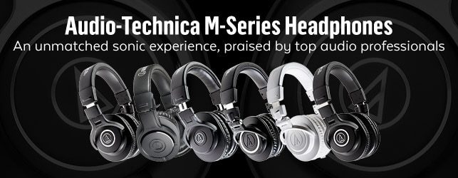 Audio Technica M Series Headphones