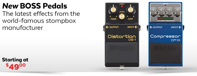 Boss Pedal Effects