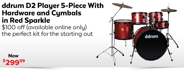 Ddrum D2 Player 5-Piece
