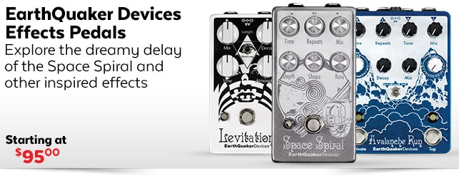 Earthquaker Devices Effects Pedals