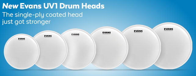 Evans UV1 Drum Heads