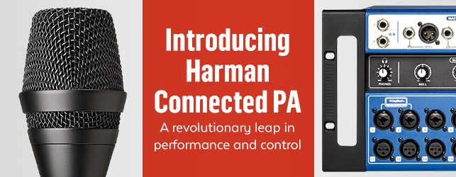 Harman Connected PA