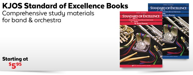 KJOS Standard of Excellence Books