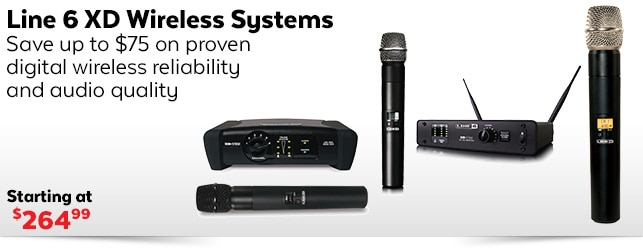 Line 6 XD Wireless Systems