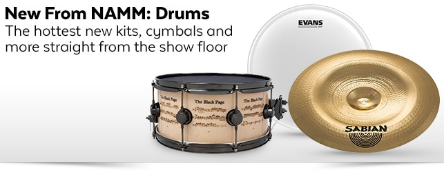 New From NAMM - Drums