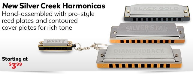 New Silver Creek Harmonicas