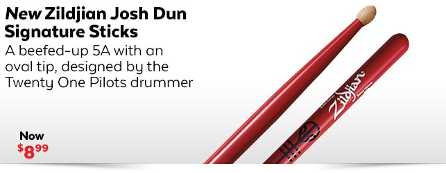 New Zildjian Josh Dun Sticks