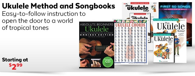 Ukulele Method and Instruction Books