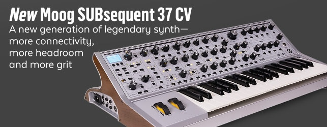 NewMoog SUBsequent CV Limited Edition Synthesizer