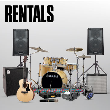 Rent Audio, Lighting & More