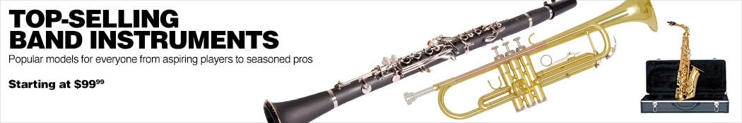Top Selling Band Instruments